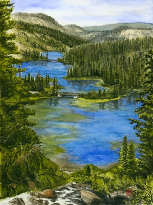 Twin Lakes, Mammoth, CA
