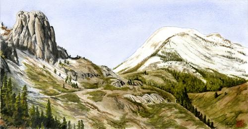 Mammoth Rock & Mammoth Mountain