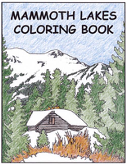 Mammoth Lakes Coloring Book