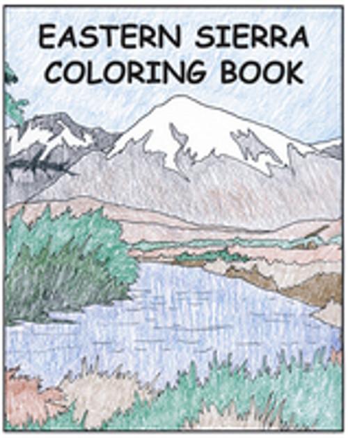 Eastern Sierra Coloring Book