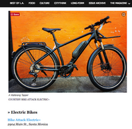 Best Places to Shop In Los Angeles: Bike Attack Electric