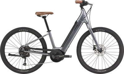 Cannondale Electric | Adventure Neo 4 | Electric City Bike | Grey
