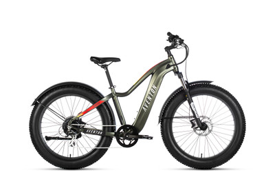 Aventon Electric | Aventure | Electric Fat Bike | Camo Green