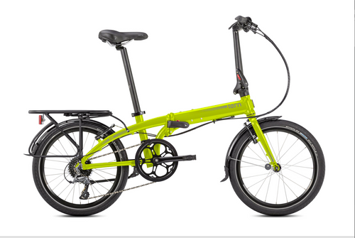 Tern | Link D8 | Folding Bike | Safety Yellow