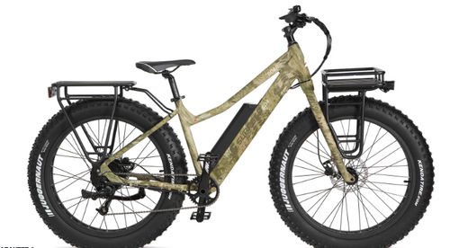 Surface 604 Electric | Boar Hunter Camo Fat Electric Bike
