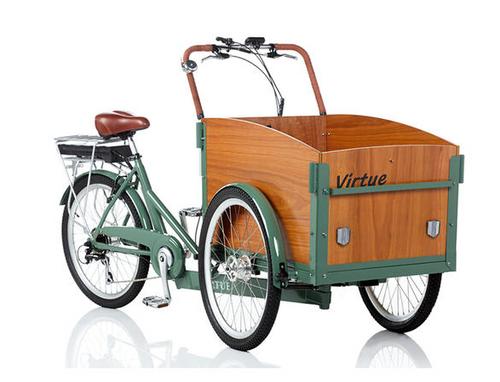 Virtue | Electric Schoolbus | Cargo Box Bike