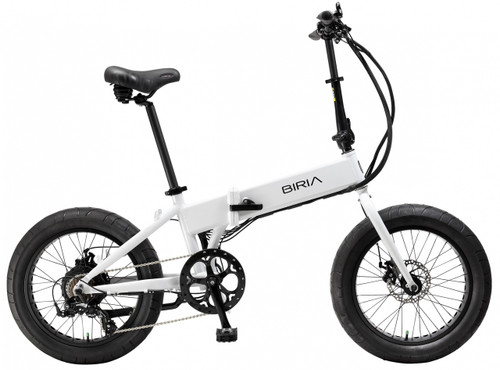 Biria Electric Bikes | Folding Bike | 2019 | White