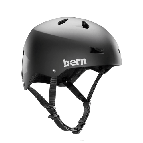Bern | Team Macon MIPS | Men's Helmet | 2019 | Black - Matte Black Summer