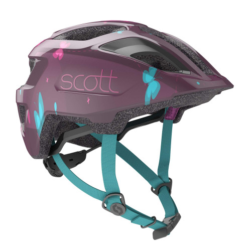 Scott | Spunto Kid | Kids Helmet | 2020 | Deep Purple