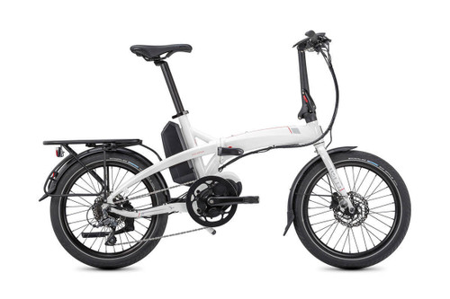 Tern Electric | Vektron D8 | Electric Folding Bike | White/Red