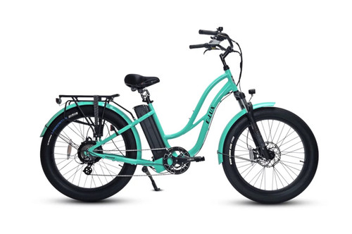 Elux Electric | Tahoe Step Thru GT | Seafoam Green