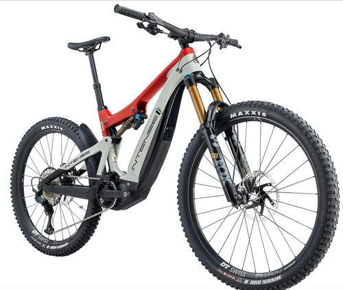 Intense Cycles: Tazer Pro Electric | 2021 | Red-White