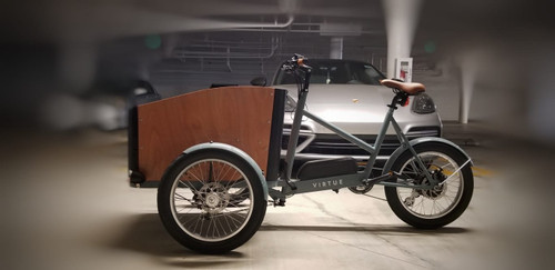 Virtue | Electric Pedalbox+ | Cargo Box Bike