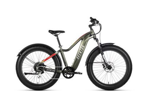 Aventon Electric | Aventure | Electric Fat Bike | Camo Green