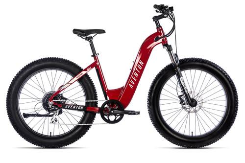 Aventon Electric | Aventure | Electric Fat Bike | Electric Red