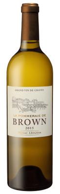 La Pommeraie de Brown 2016, Pessac Leognan Blanc