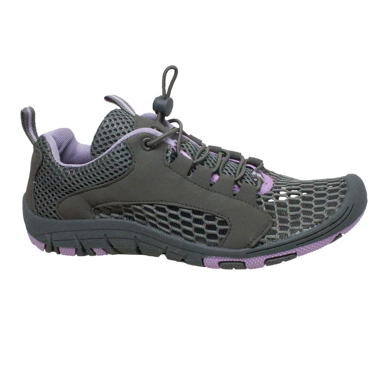 Breathable Water AdTec Women/'s Speed Lace Open Mesh Rocsoc Purple//Grey Shoes
