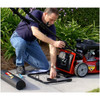 The Toro lawn striping system is easy to install