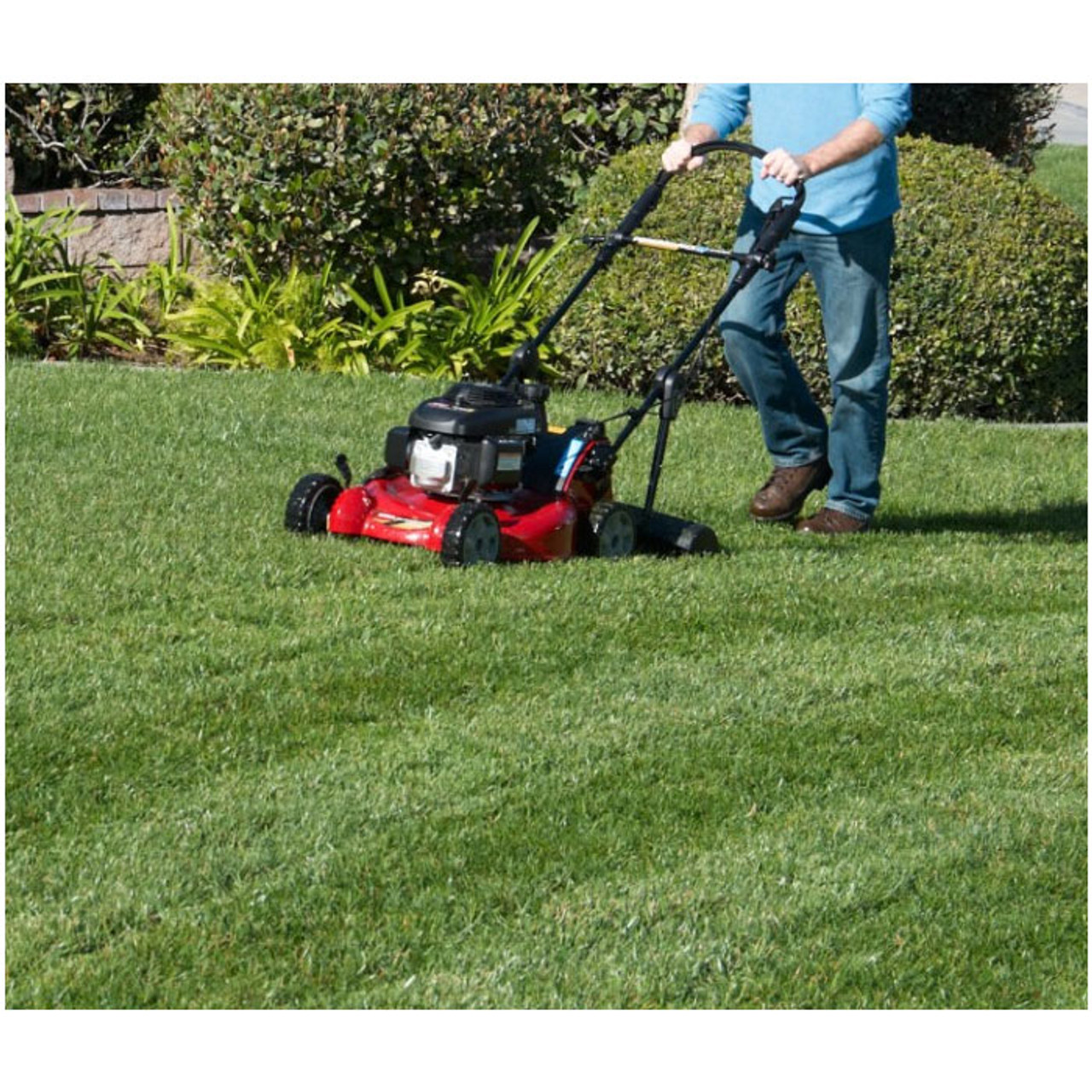 Create professional-looking stripes with the Toro Lawn Striping System