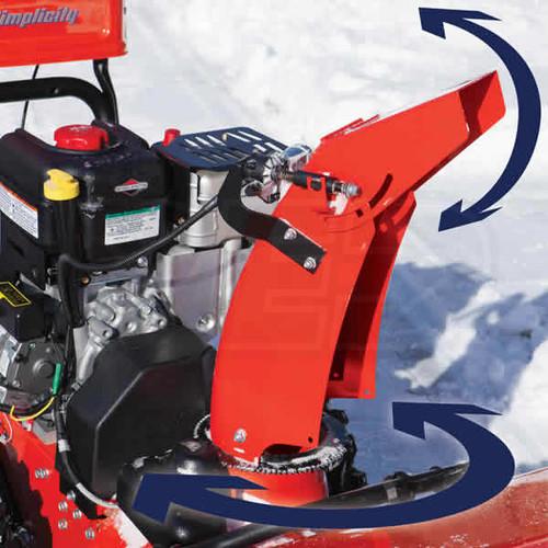 "Simplicity H1528E 28"" 2 Stage Heavy Duty Snow Blower 1696518 MFG Rebate"