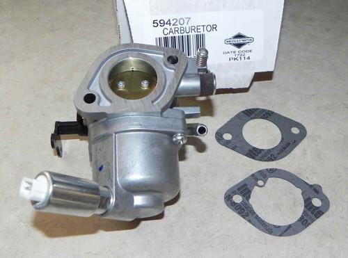 Briggs & Stratton 594207 - Carburetor  Where Used: Part Number 594207 Model Name Diagram 40N777-0001-B1 Carburetor, Fuel Filter 40N777-0002-G1 Carburetor, Fuel Filter 40N777-0003-G1 Carburetor, Fuel Filter 40N777-0004-B1 Carburetor, Fuel Filter 40N777-0005-B1 Carburetor, Fuel Filter 40N777-0006-B1 Carburetor, Fuel Filter 40N777-0007-B1 Carburetor, Fuel Filter 40N777-0008-B1 Carburetor, Fuel Filter 40N777-0010-B1 Carburetor, Fuel Filter 40N777-0011-B1 Carburetor, Fuel Filter 40N777-0012-B1 Carburetor, Fuel Filter 40N777-0013-B1 Carburetor, Fuel Filter 40N777-0014-B1 Carburetor, Fuel Filter 40N777-0015-B1 Carburetor, Fuel Filter 40N777-0016-B1 Carburetor, Fuel Filter 40N777-0017-B1 Carburetor, Fuel Filter 40N777-0018-B1 Carburetor,  40N877-0012-B1 Carburetor, Fuel Filter 40N877-0013-G1 Carburetor, Fuel Filter 40N877-0014-B1 Carburetor, Fuel Filter 40N877-0017-G1 Carburetor, Fuel Filter 40N877-0018-B1 Carburetor, Fuel Filter 40N877-0019-B1 Carburetor, Fuel Filter 40N877-0020-B1 Carburetor, Fuel Filter 40N877-0021-B1 Carburetor, Fuel Filter 40N877-0022-G1 Carburetor, Fuel Filter 40N877-0023-B1 Carburetor, Fuel Filter 40N877-0024-B1 Carburetor, Fuel Filter 40N877-0025-B1 Carburetor, Fuel Filter 40N877-0026-B1 Carburetor, Fuel Filter 40N877-0028-B1 Carburetor, Fuel Filter 40N877-0029-G1 Carburetor, Fuel Filter 40N877-0030-B1 Carburetor, Fuel Filter 40N877-0031-B1 Carburetor, Fuel Filter 40N877-0032-B1 Carburetor, Fuel Filter 40N877-0034-G1 Carburetor, Fuel Filter 40N877-0035-B1 Carburetor, Fuel Filter 40N877-0036-B1 Carburetor, Fuel Filter 40N877-0039-G1 Carburetor and Fuel Supply Group 40N877-0042-B1 Carburetor and Fuel Supply Group 40N877-0043-B1 Carburetor and Fuel Supply Group 40N877-0044-B1 Carburetor and Fuel Supply Group 40N877-0045-G1 Carburetor and Fuel Supply Group 40N877-0046-B1 Carburetor and Fuel Supply Group 40N877-0047-B1 Carburetor and Fuel Supply Group 40N877-0048-B1 Carburetor and Fuel Supply Group 40N877-0049-B1 Carburetor and Fuel Supply Group 40N877-0