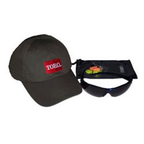Toro hat and sunglasses