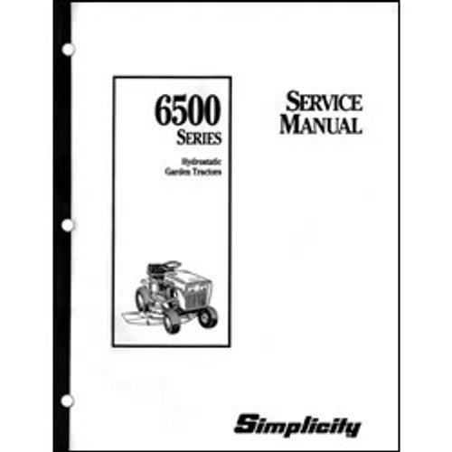 free simplicity service manuals