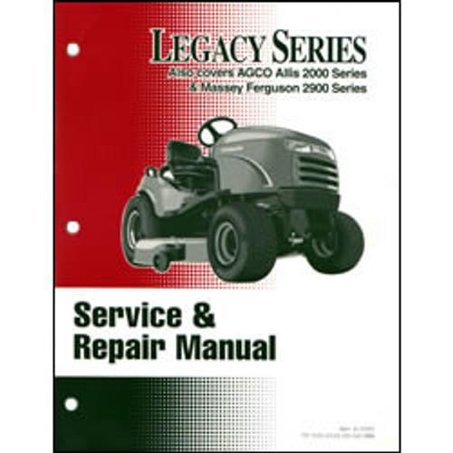 Simplicity Legacy Series Tractor Repair Manual 500-2318