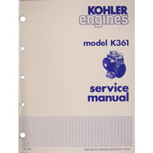 Kohler Model K361 Engine Repair Manual TP-1288