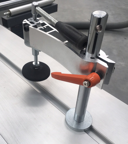Clamp as standard