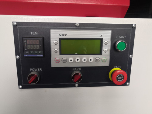 Touch screen controller with diagnostics