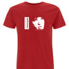 Our exclusive Limited Edition T-Shirt collaboration with the Performance 50th book by Jay Glennie in red