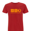 limited edition organic cotton red t-shirt