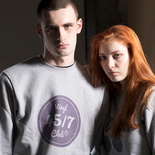 45/7 Vinyl Club Sweatshirt