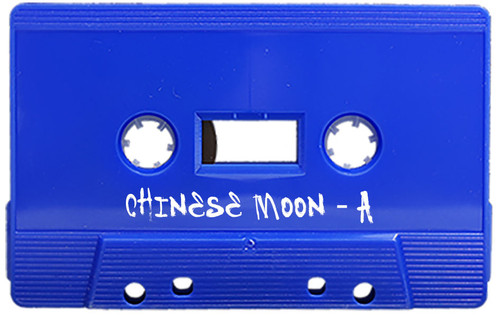 Exact repro, fully authorised by the band, reissue of the legendary Chinese Moon cassette.