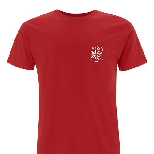 The Man from Mo' Wax Red Official Limited Edition t-shirt