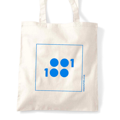 1 of 100 classic tote in blue