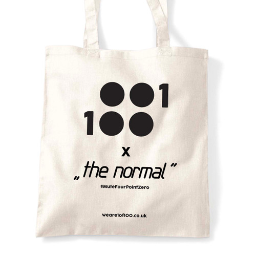 The very last Mute - The Normal tote bags!