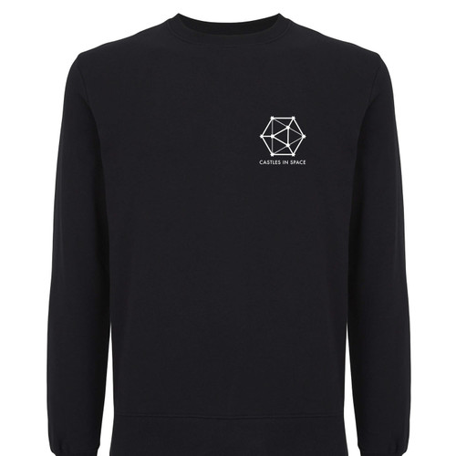 Castles in Space collaboration, quality 100% Organic Cotton sweatshirt