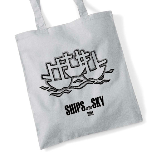 3 Ships tote bag
