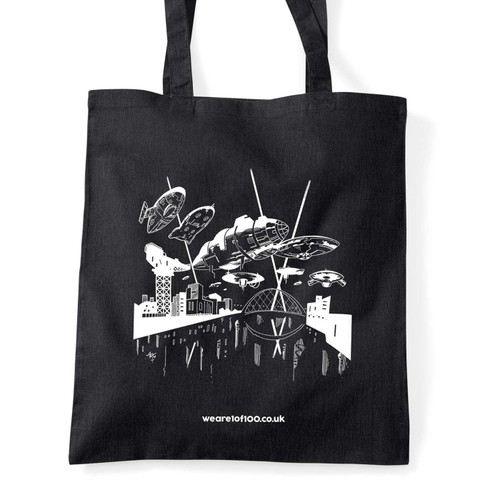 Fear-E x Oldham Industries tote bag