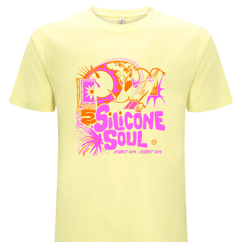 Silicone Soul on lemon, organic cotton