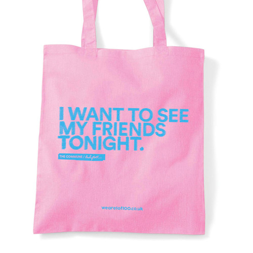 Andy Bell tote bag