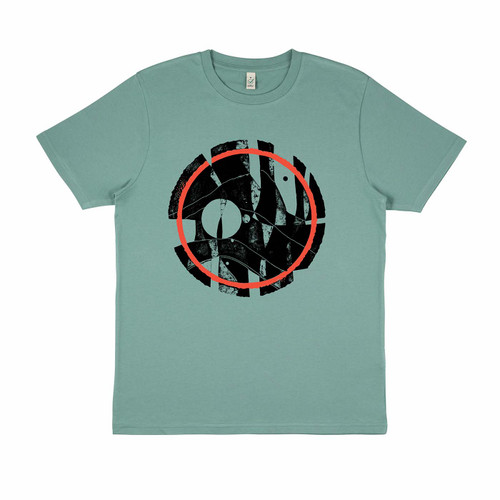 Exclusive collaboration with Mantle Brewery and Peter Billington, 100% organic cotton sage t-shirt