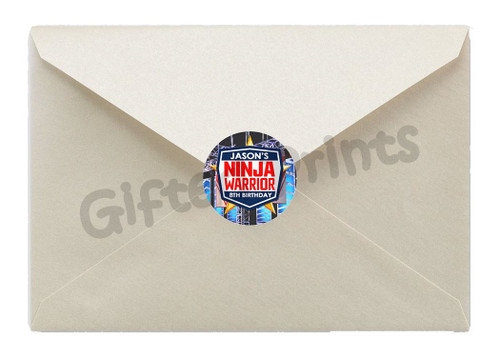 Ninja Warrior Envelope Seals 1