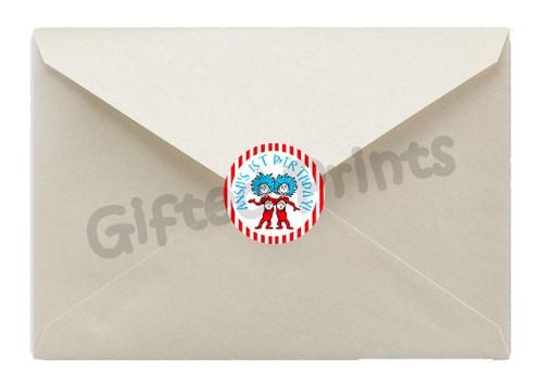 Dr. Seuss Envelope Seals 1