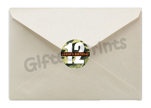 Nerf Envelope Seals