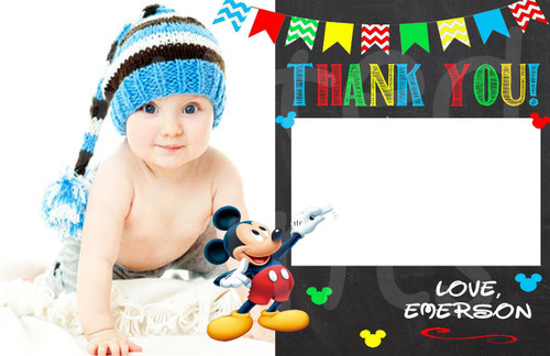 Mouse Thank You Card 5