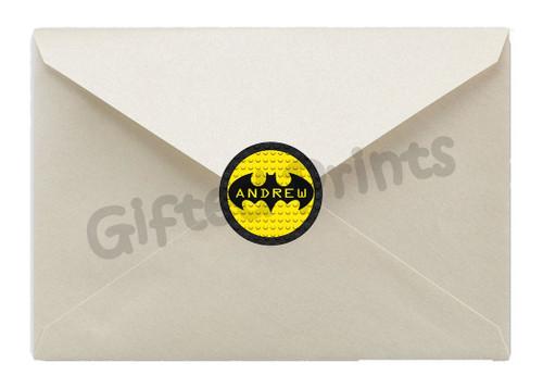 Lego Batman Envelope Seals
