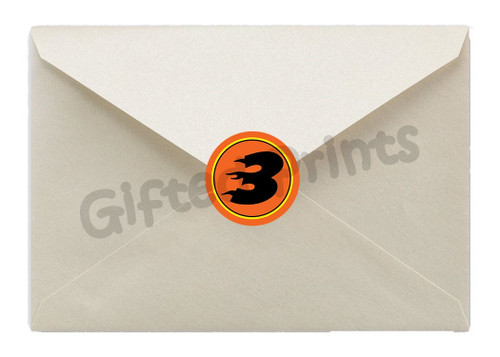 Blaze and the Monster Machines Envelope Seals